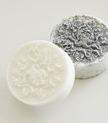 HAND POURED FLOWER SOAP DUO No.1 : SONG OF BEAUTY