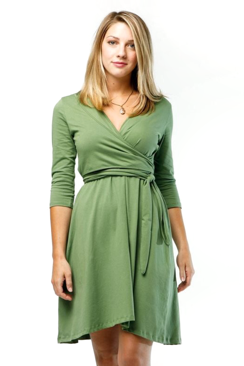 Vineyard Green Victoria Dress - ROSE MADE SHOP