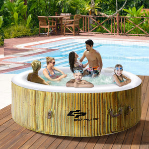 Inflatable Hot Tub Bubble Massage Spa 4-6 Person