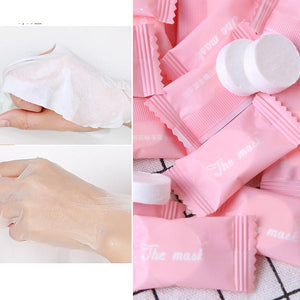 20pc Compressed Paper Disposable Facial Masks