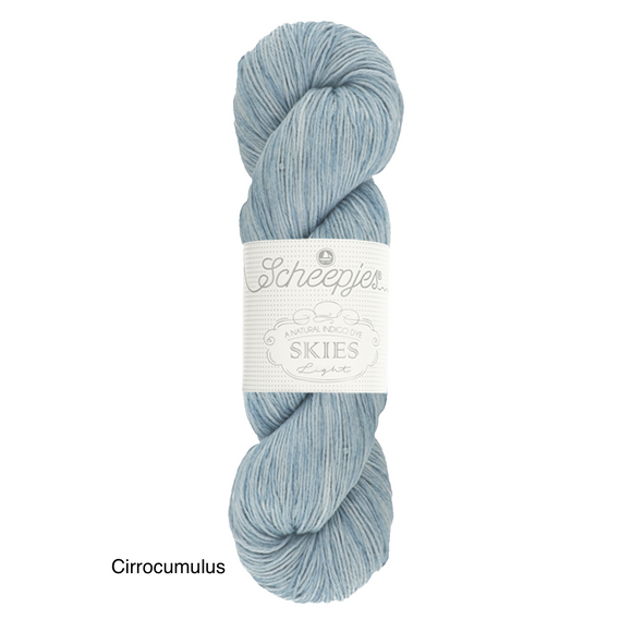 Cirrocumulus Scheepjes Skies Cotton Vegan yarn