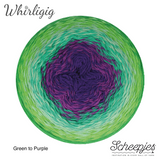 whirligig green to purple