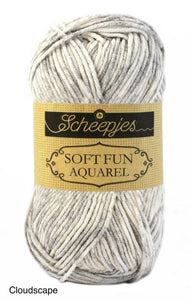 Scheepjes Softfun Aquarel Cotton Acrylic Yarn Riverscape