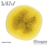 Scheepjes Whirl Ombre Daffodil Dolally cotton acrylic fingering yarn