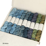 Heavy Mini Hank Kit 9 colors of Scheepjes SKies cotton yarn