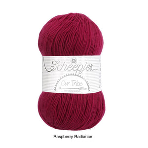 raspberry radiance our tribe wool