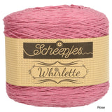 Scheepjes Whirlette cotton acrylic yarn rose