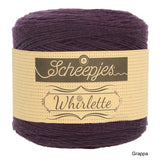 Scheepjes Whirlette cotton acrylic yarn grappa