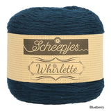 Scheepjes Whirlette cotton acrylic yarn blueberry