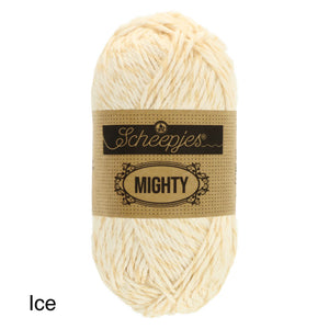 Scheepjes Mighty Jute and Cotton Ice