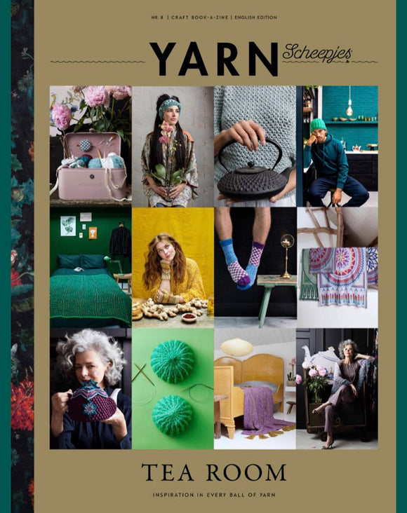 Yarn 8 Book-a-zine Tea Room