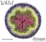 Scheepjes Whirl cotton acrylic  Black Forest Zinger