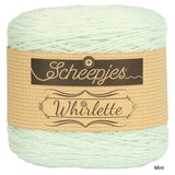 Scheepjes Whirlette cotton acrylic yarn mint