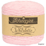 Scheepjes Whirlette cotton acrylic yarn grapefruit
