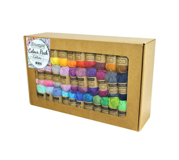 Scheepjes Cahlista Colour Pack 15g mini Skeins