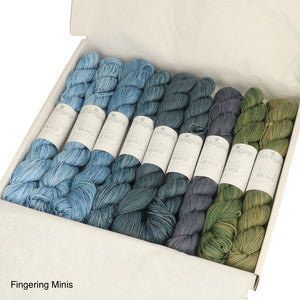 Light Mini Hank Kit Scheepjes Skies Cotton Yarn