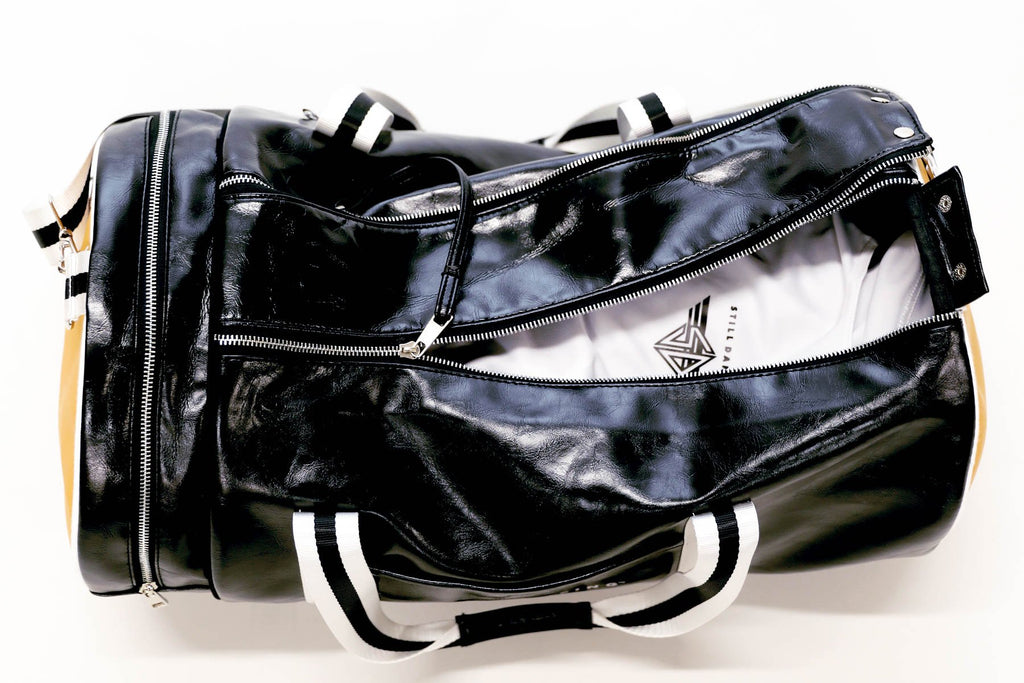 Still Dancing Faux Leather Duffle Bag