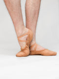 Sansha Pro 1C - Split Sole Canvas Ballet Flat - MENS
