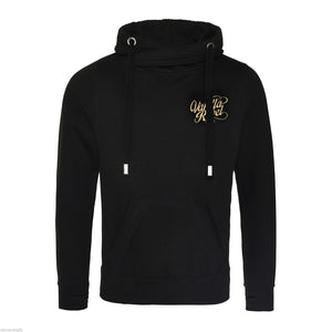 Unisex Cross Neck Hoodie Gold Edition