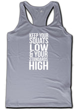 Vanilla Rebel 'KEEP YOUR SQUATS LOW' Statement Vest