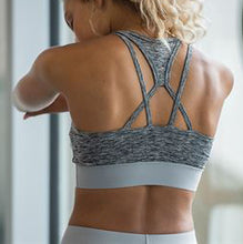 Cross Back Crop Top Training Bra