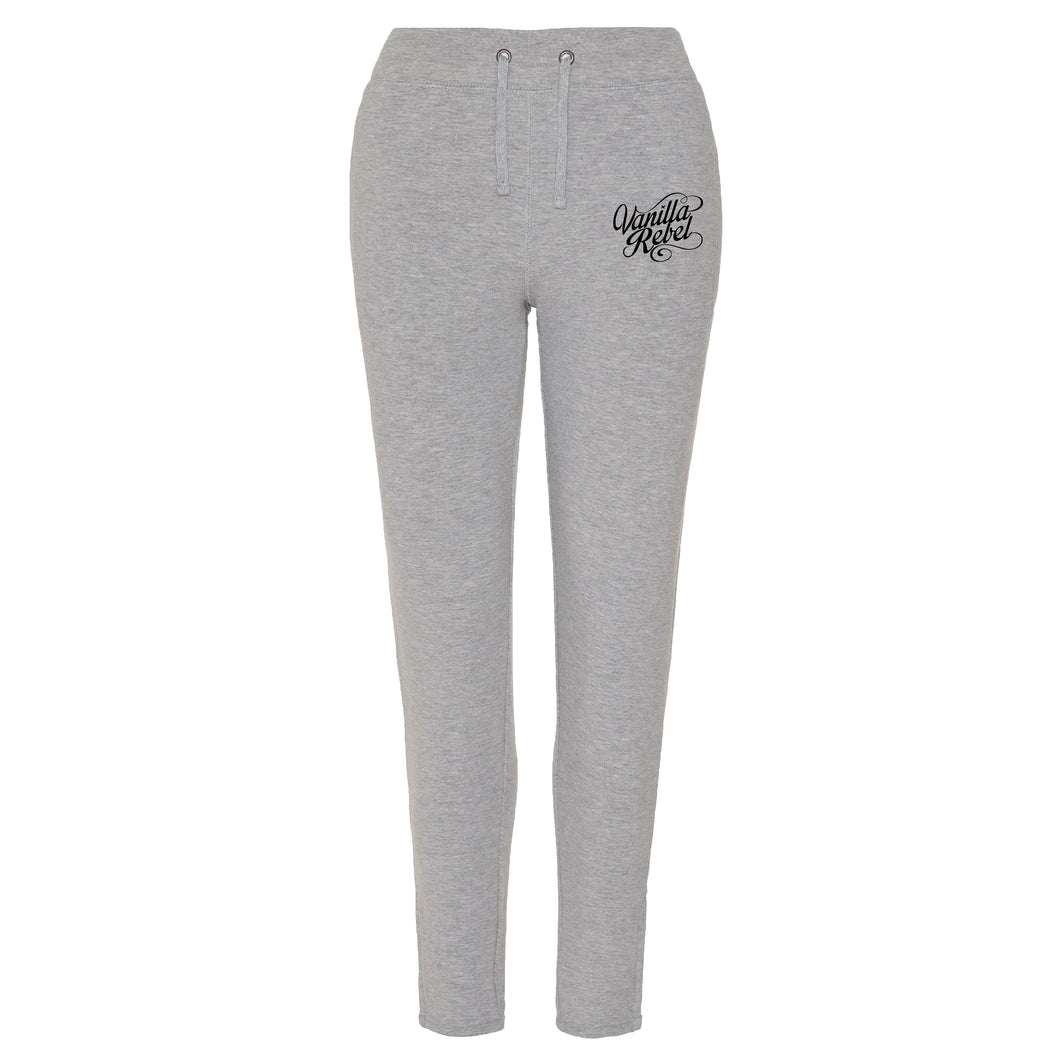 Vanilla Rebel Womens Logo Joggers