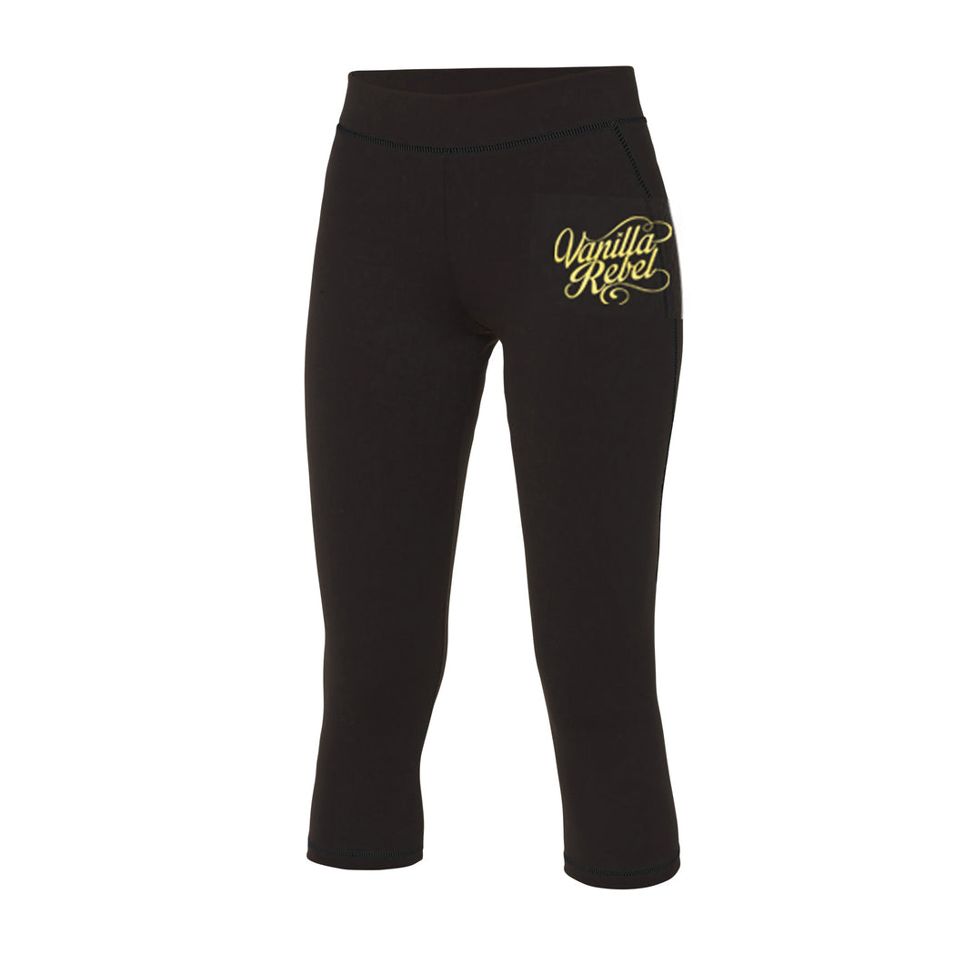 Gold Edition Capri Leggings