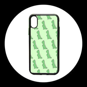 Dinosaur Prints iphone case