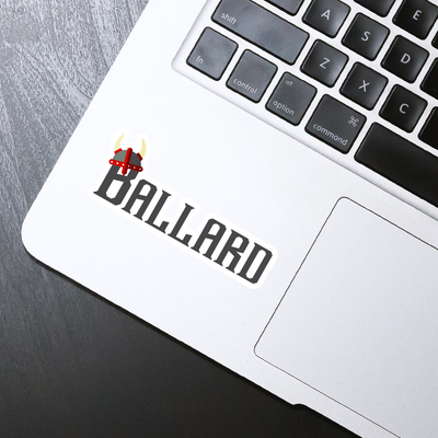 Ballard Sticker - HackStickers