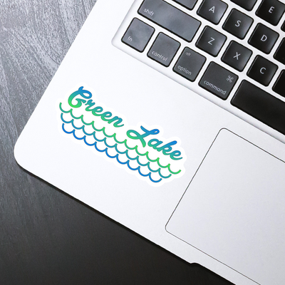 Green Lake Sticker - HackStickers