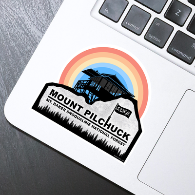Mt. Pilchuck Sticker - HackStickers