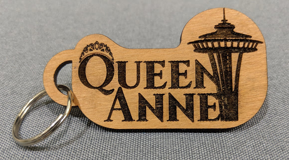 Keychain - Queen Anne