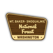 Mt. Baker Snoqualmie Sticker - HackStickers