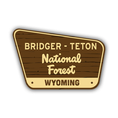 Bridger-Teton Sticker - HackStickers