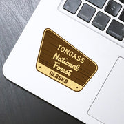Tongass Sticker - HackStickers