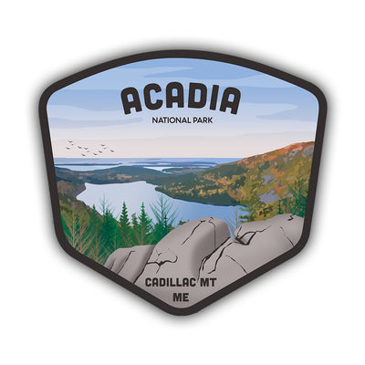 Acadia ME Sticker - HackStickers