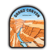 Grand Canyon AZ Sticker - HackStickers