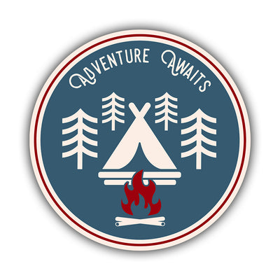 Adventure Awaits Sticker - HackStickers