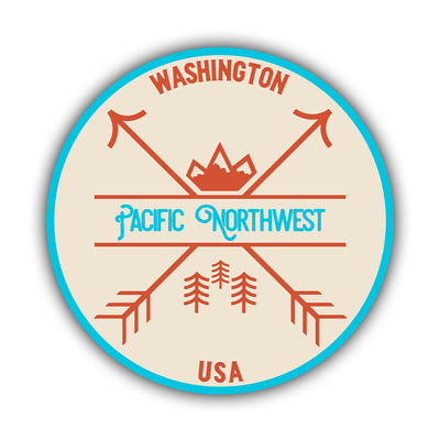 PNW Arrows Sticker - HackStickers