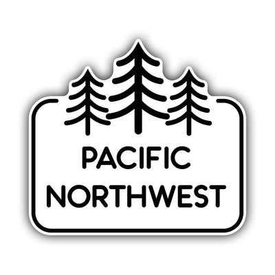 Pacific Northwest Sticker - HackStickers