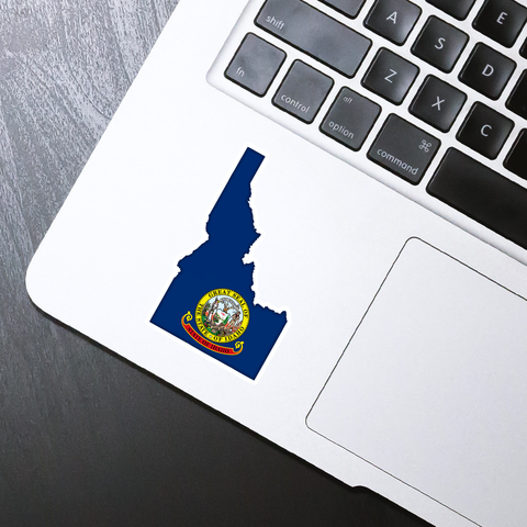 Idaho State Flag Sticker - HackStickers