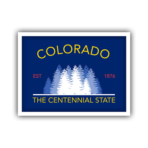 Colorado State Slogan Sticker - HackStickers