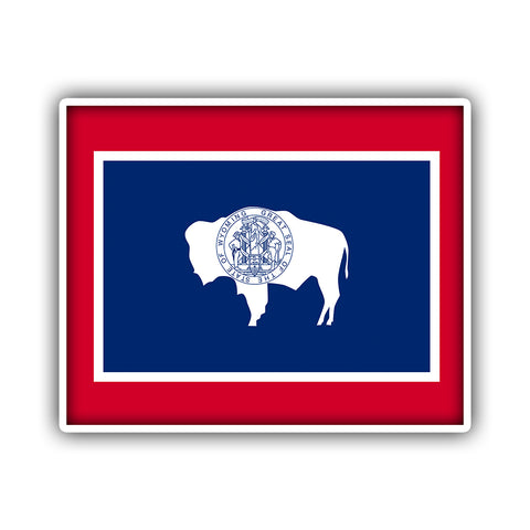 WY State Flag - HackStickers
