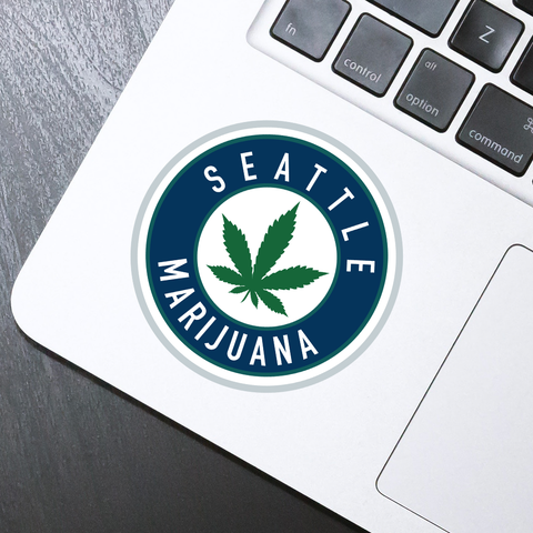 Seattle Marijuana Sticker - HackStickers