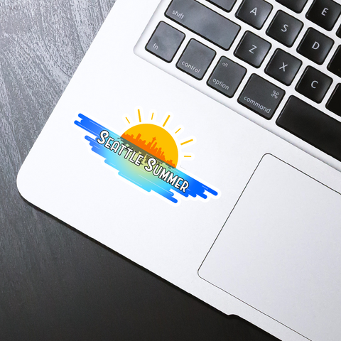 Seattle Summer Sticker - HackStickers