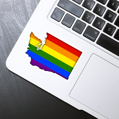 Washington Pride Sticker - HackStickers