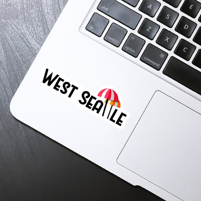 West Seattle Sticker - HackStickers