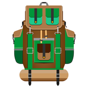 Backpack Sticker - HackStickers