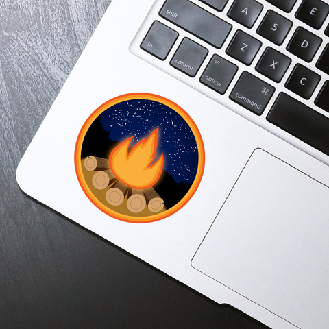 Campfire Sticker - HackStickers