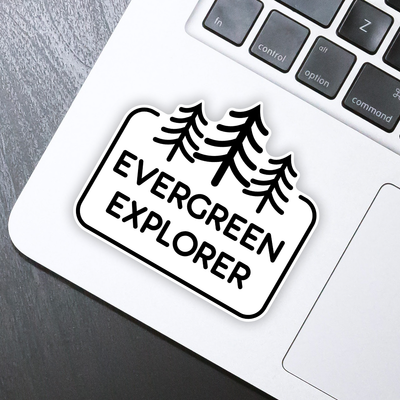 Evergreen Explorer Sticker - HackStickers